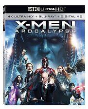 BRAND NEW! X-Men: Apocalypse (4K Ultra HD Blu-ray/Blu-ray) FREE SHIPPING!