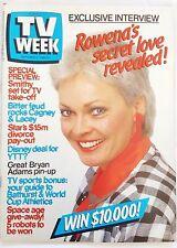 TV WEEK 1985 Oct~Nicole Kidman,Rowena Wallace,Jon Blake,Neighbours,Prisoner, NM