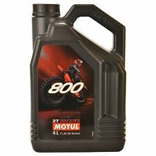 Motul Factory Line 800 2T OFF ROAD 4 Litres d'Huile Moteur pour Moto, Entièrement Synthétique (104039)