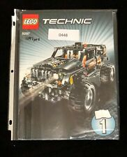 LEGO Technic 8297 Off Roader (instructions book only)
