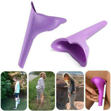 Female Women Girl Urinal Funnel Camping Travel Urine CUP Stand UP Outdoor