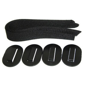 Strap Kit For Luggage Carrier Pack N Pedal 2061201100 Thule Cycling