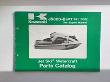 JET-SKI Watercraft part catalog KAWASAKI js300-b, English, 99910-1367-01