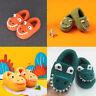 Toddler Infant Boys Girls Fluffy Little Kids Shoes Warm Cute Animal Home Slipper