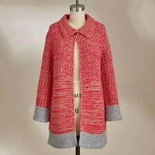 Sundance Selena Sweater Pink 3/4 Sleeve Cardigan NWOT $158