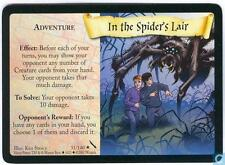 Harry Potter TCG Chamber of Secrets In The Spider's Lair 31/140