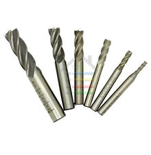 """4 Flute End Mill Milling Cutter CNC Machine Tools 1/2 3/8 5/16 1/4 3/16 1/8"""""""