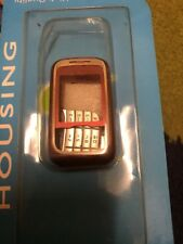 NOKIA 6111 HOUSING / Fascia/ Case COMPLETE WITH KEY AND BACK COVER Red