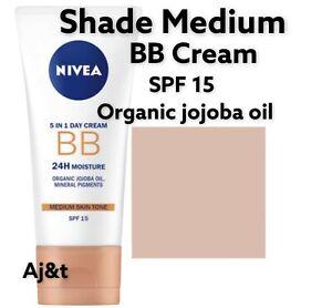 Nivea  5 in 1 DAY BB  CREAM  moisturizing  SPF 15 Shade Medium 50 ml