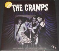 THE CRAMPS coast to coast UK 2-LP new sealed YELLOW VINYL gatefold cover LIVE