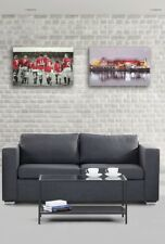 Manchester United - 2 x Wall Canvases -  Old Trafford & Legends