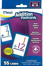 Mead Addition Flash Cards New (Includes Reward Stickers)