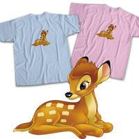 Classic Disney Bambi Deer Cartoon Movie Cute Mens Womens Kids Unisex Tee T-Shirt