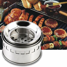 Outdoor Portable Wood Burning Backpacking Emergency Survival BBQ Camping Stove D
