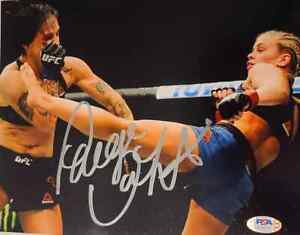 PAIGE VANZANT SIGNED 8x10 PHOTO PSA/DNA COA MMA UCF FIGHT NIGHT PVZ SEXY 2