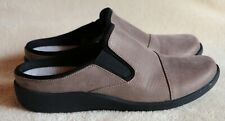 Clarks Cloud Steppers Women's Shoes Slip On Pewter Size 7 M
