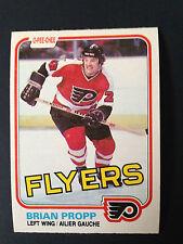 1981-82 O-Pee-Chee Brian Propp Hockey Card