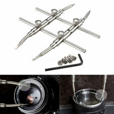 EB_ DV_ Pro Stainless Steel DSLR Camera Lens Repair Kit Spanner Wrench Open Tool