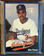 1991 Cal Cards BAKERSFIELD DODGERS Limited GLOSSY UNOPENED Set  MIKE PIAZZA HOF