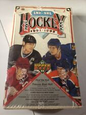 1991-92 Upper Deck LNH/NHL Hockey Cards - Brand New The Collectors Choice