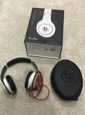 Beats By Dr Dre Studio 1 1st Generation White Black & Red