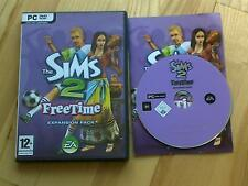 LES SIMS 2 Freetime PACK EXTENSION PC CD-ROM / Windows