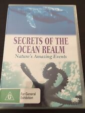 """""""Secrets Of The Ocean Realm"""" Nature's Events(DVD, Region 4, 2003) *NEW & Sealed*"""