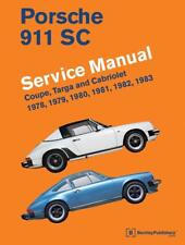 PORSCHE 911 SC COUPE TARGA CABRIOLET Owners Service Repair Manual Handbook Book