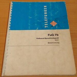 Telefunken FuG 7b Technische Beschreibung / Handbuch