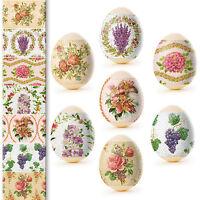 Easter Egg Wraps for 7 Hen Eggs, Pysanka, Pysanky Eggs Heat Shrink Sleeves, #47
