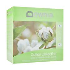 Cotton Collection Quilt Duvet Doona Downia Natural 350 GSM Cotton