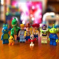SET 8 Fits Lego MOC Toy Story 4 Buzz Lightyear Woody Jessie Alien Ducky Bo Peep