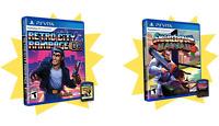 Retro City Rampage DX + Shakedown Hawaii PS Vita VBlank Limited Run Sealed Rare