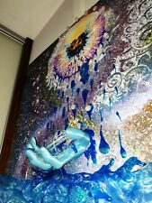Luxurious painting - PORTAL TO HEAVEN with real RUNES energies
