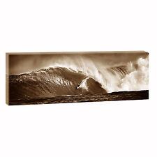 Surfing se Bild Leinwand Modern Design Poster Meer Welle  XXL 120 cm* 40 cm 548