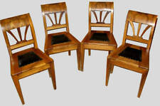 Set of 4 Antique Russian dining chairs