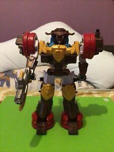 Power Rangers Ninja Steel Deluxe Bull Rider Megazord