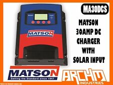 MATSON   30AMP DUAL BATTER DCDC DC/DC CHARGER WITH SOLAR INPUT - BATTERY CHARGER