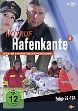 """4 DVDs  * NOTRUF HAFENKANTE  ~  STAFFEL 8  # NEU OVP """""""