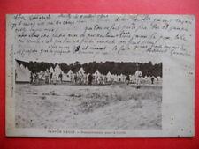 CAMP DE MAILLY  :  Rassemblement pour la Corvée......VO.1904.