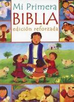 Mi Primera Biblia Edicion Reforzada para Niños (Spanish Edition) Hardcover