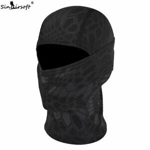 Tactical Outdoor Camo Quick-Drying Face Mask Balaclava Hood Hat Airsoft Typhon