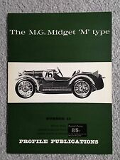 MG M Type Midget - Profile Publication #45 - VG / Near Mint Condition