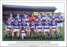 Laois National League Football Champions 1985/86: GAA Print