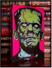 Frankenstein by Mary Shelley New Pop Art Hardback Classic Horror Gift Edition