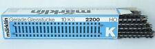 Märklin H0 2200 ++ K-Gleis 10x Gerades Gleis 180mm ++ Anlagenrückbau ++ #C2_484