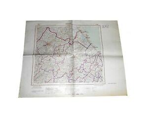 FORLI' carta militare amministrativa 1966