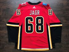 online store 8f97c 9f022 Jaromir Jagr Calgary Flames Jersey NHL Fan Apparel ...