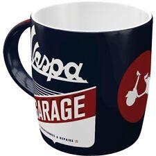 Vespa Scooter Garaje Taza Souvenir Taza 330 Ml. Coffee Mug