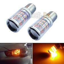 Amber Reflector 48-SMD LED Bulbs For 08+ Mitsubishi Lancer Evo Daytime DRL Light